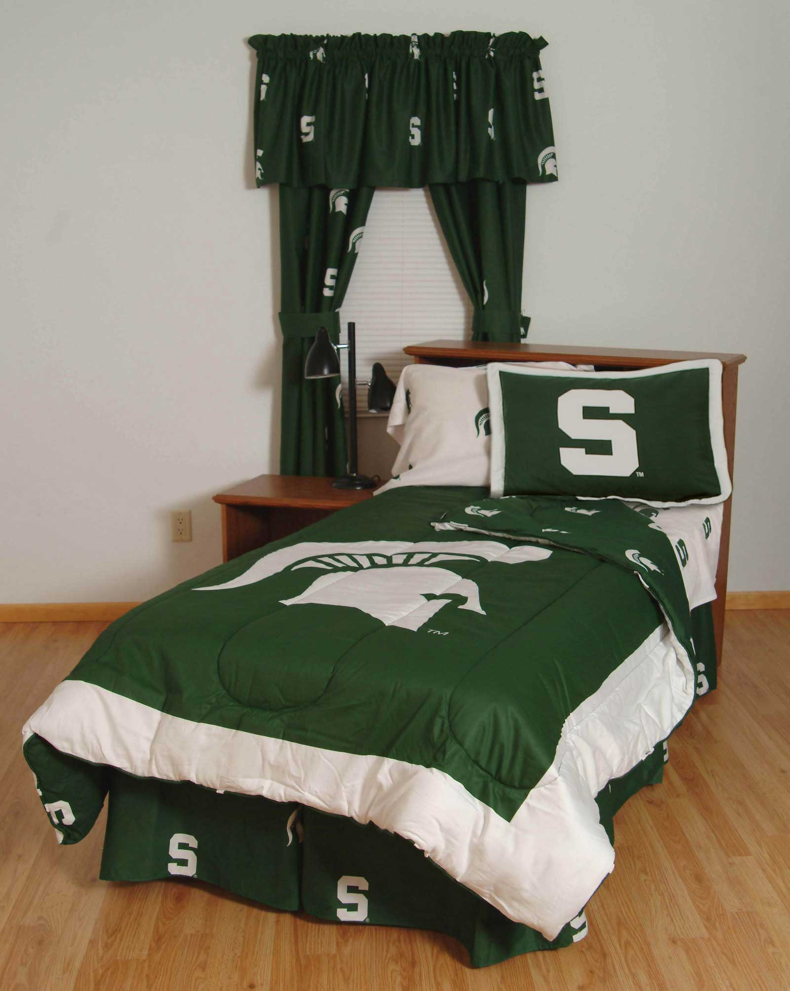 Buy Michigan State Spartans Bed In A Bag With White Team